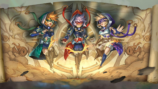 Télécharger gratuit Heroes Infinity: RPG + Strategy + Super Heroes APK MOD 1