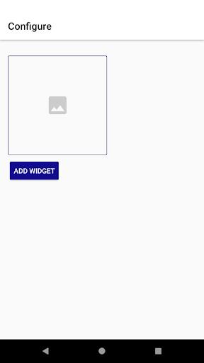 Photo widget 1.2 screenshots 1