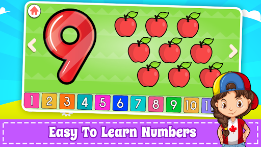 Learn Numbers 123 Kids Free Game - Count & Tracing 2.9 Screenshots 5