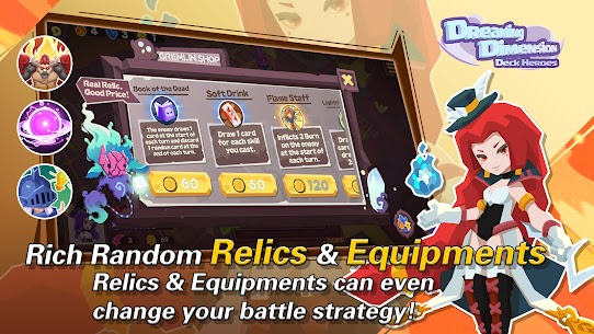 Dreaming Dimension Mod Apk: Deck Heroes (Unlimited Coins) 6