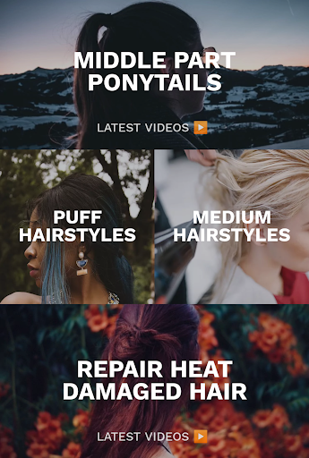 Hairstyles for your face : Free Hair salon 3.0.153 Screenshots 3
