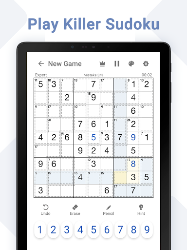 Killer Sudoku - Free Sudoku Puzzles+ 1.3.0 screenshots 15