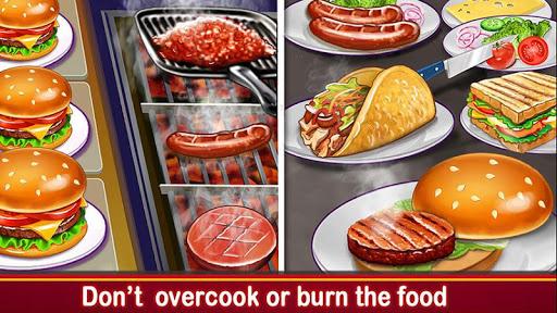 High School Café Girl: Burger Serving Cooking Game 2.4 screenshots 2