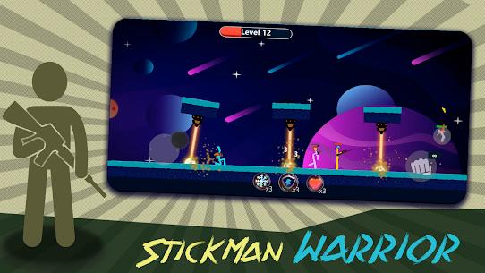 Stickman Gun Battle Infinity – Stick Fight Mod Apk 1.6 (A Lot of Gold Coins) 2