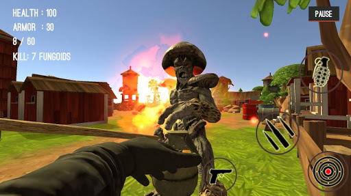 Monster Killing City Shooting II  screenshots 8