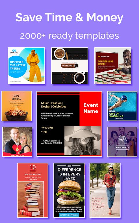Social Media Post Maker, Planner, Graphic Design  poster 17