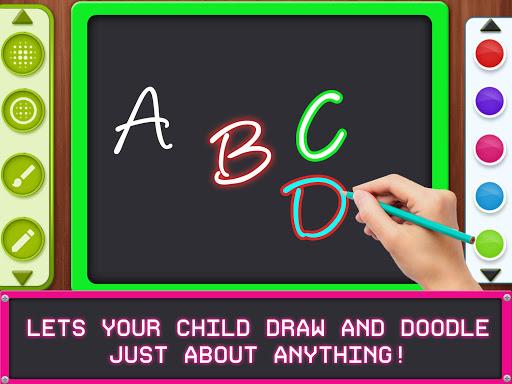 Kids Magic Slate Simulator - Toddlers Drawing Pad  screenshots 4
