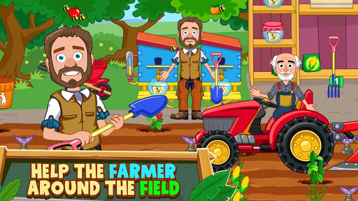 My Town : Farm Life Animals Game  for Kids Free 1.07 screenshots 9