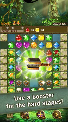 Jewels Jungle : Match 3 Puzzle apktram screenshots 5