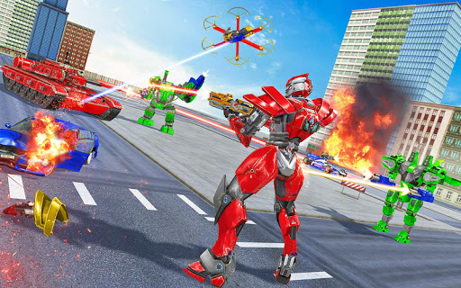 Tank Robot Car Game 2020 u2013 Robot Dinosaur Games 3d screenshots 1