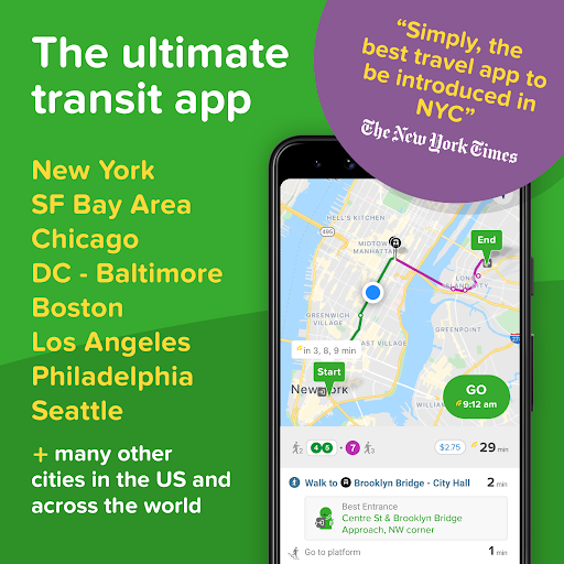 Citymapper: Directions For All Your Transportation 10.22 Screenshots 1