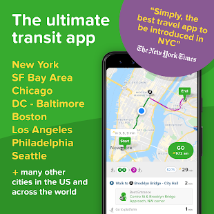 Citymapper: Directions For All Your Transportation Screenshot