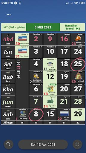Kalendar Malaysia - Holidays & memo reminder apktram screenshots 4