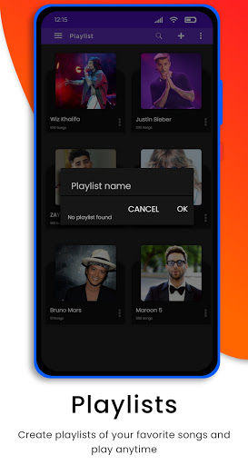 Mp4 HD Player - Music Player & Media Player 1.1.4 Screenshots 2