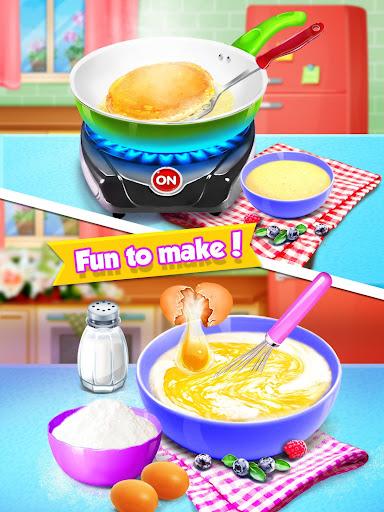 School Breakfast Pancake Food Maker screenshots 5