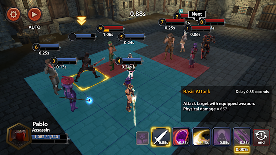 Chrono Clash - Fantasy Tactics Simulator Screenshot