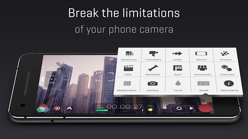 FiLMiC Pro: Professional HD Manual Video Camera  screenshots 5