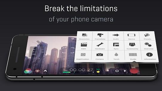 FiLMiC Pro: Professional HD Manual Video Camera Mod 6.14.0 Apk (Free Download) 5