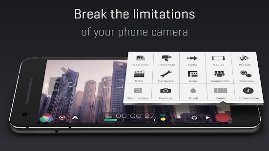 FiLMiC Pro: Professional HD Manual Video Camera Screenshot