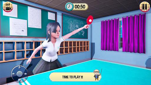 Virtual High School Girl Game- School Simulator 3D 1.0.0 Screenshots 15