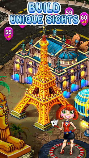 Magica Travel Agency - Match 3 Puzzle Game apktreat screenshots 1
