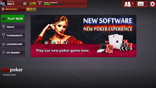 FacePoker Texas Holdem Poker 2.9 screenshots 13