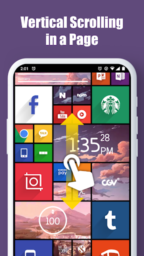 Square Home - Launcher : Windows style 2.1.14 Screenshots 5