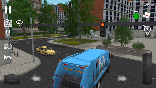 Trash Truck Simulator  Paidproapk.com 4