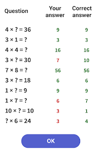 Free Time Tables – Multiplication Games 5