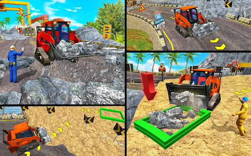 Heavy Excavator Simulator 2020: 3D Excavator Games modavailable screenshots 6