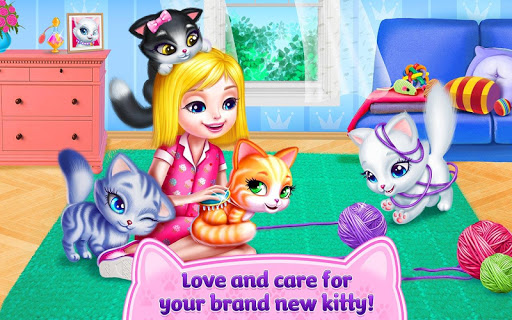 Kitty Love - My Fluffy Pet android2mod screenshots 5