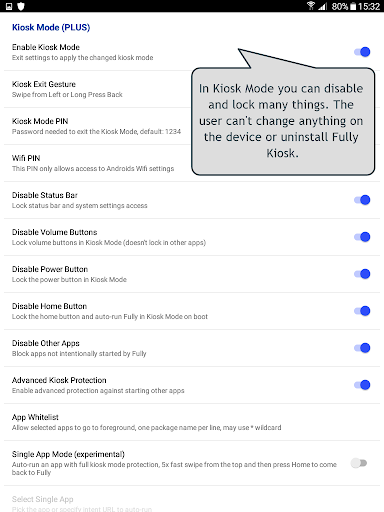 Fully Kiosk Browser & App Lockdown 1.42.4 Screenshots 12