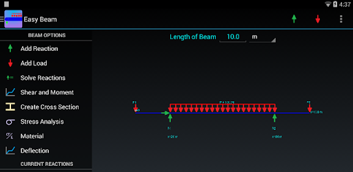 Easy Beam Analysis Aplikasi Di Google Play