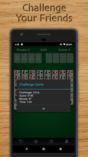FreeCell Solitaire Free - Classic Card Game  screenshots 4
