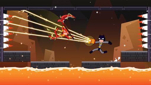 Spider Stickman Fighting - Supreme Warriors poster