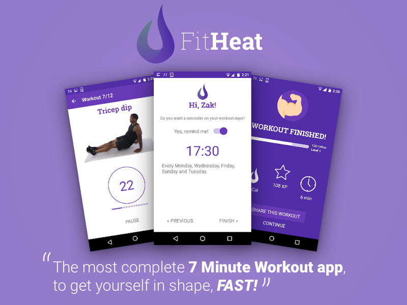 FitHeat - 7 Minute Workout