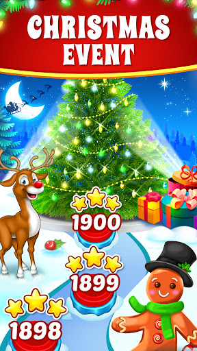 Christmas Cookie - Santa Claus's Match 3 Adventure 3.2.3 screenshots 6