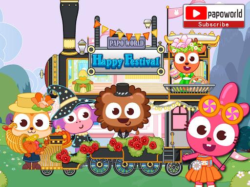 Papo Town Happy Festival  screenshots 6