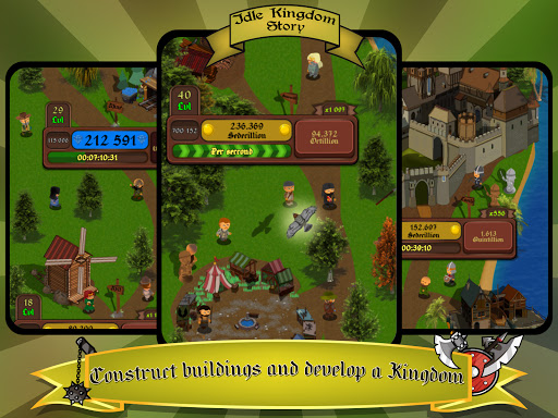 Idle Kingdom Story: Medieval Tycoon Clicker 1.1.8 screenshots 7