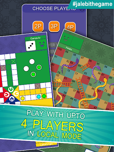 Jalebi - A Desi Adda With Ludo Snakes & Ladders 5.7.0 Screenshots 3