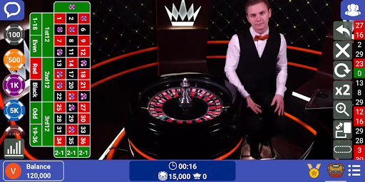 Live Casino: Play Roulette, Baccarat, Blackjack 21 screenshots 1