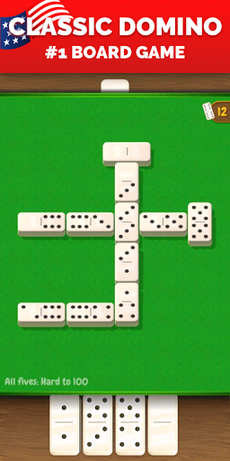 All Fives Dominoes - Classic Domino Free Games screenshots 2