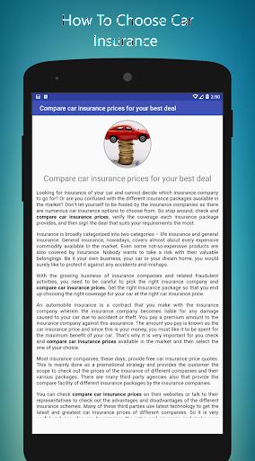Car Insurance Quote  screenshots 4
