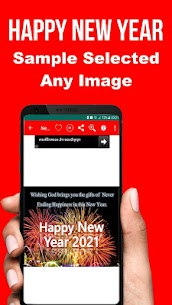 Happy New Year SMS Greeting Cards 2021 Apk Download 4