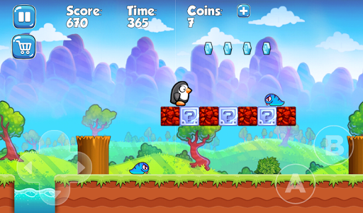 Super Penguin Adventure : free games without wifi  screenshots 4
