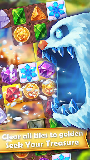 Gem Quest Hero 2 - Jewel Games Quest Match 3 android2mod screenshots 7