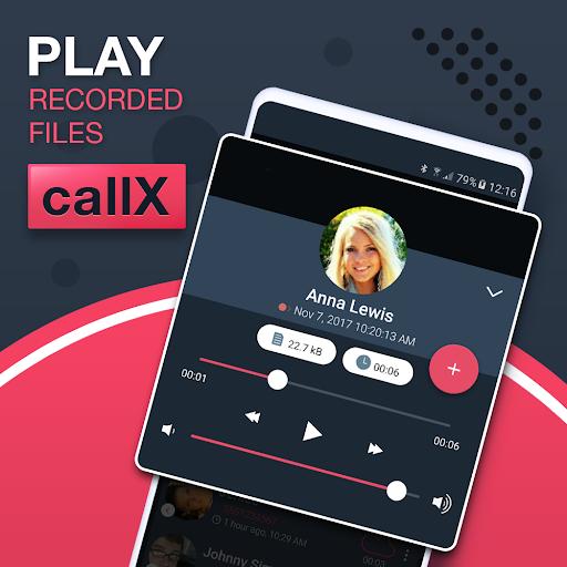Call Recorder - Automatic Call Recorder - callX apktram screenshots 2
