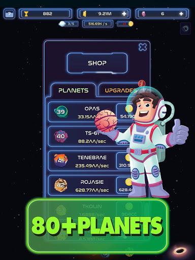 Space Merge: Galactic Idle Game 1.4.1 screenshots 11
