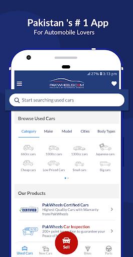 PakWheels: Buy & Sell Cars, Bikes and Auto Parts 11.7.5 Screenshots 1