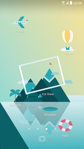 Sense Home Launcher-News,Theme  Screenshots 4